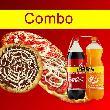 2 Pizzas Grande e  2 Refrigerante 2l e uma Sobremesa
